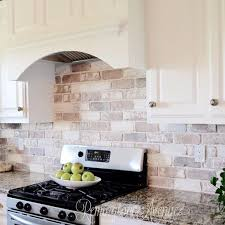 veneer kitchen backsplash brick veneer kitchen backsplash rapflava