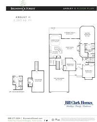 bill clark homes design center wilmington nc the ansley ii at brunswick forest shelmore floor plans pinterest