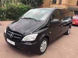 lhd left hand drive mercedes vito 113 cdi 2013 automatic black