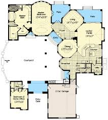 floor plans with courtyard award winning courtyard design 6334hd architectural designs