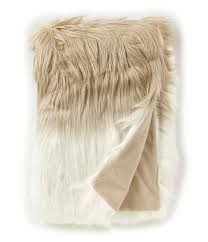 Furry Blanket Home Bedding Blankets U0026 Decorative Throws Dillards Com