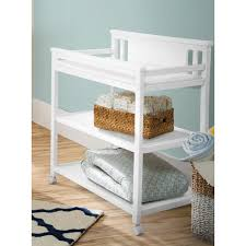 changing table with wheels delta children bennington changing table white ambiance delta