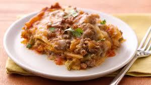 slow cooker steak and potatoes 5 dollar dinnerscom slow cooker layered enchilada dinner recipe bettycrocker com