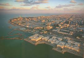 aerial view of seif palace and kuwait city u2013 architecture