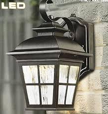 altair outdoor led coach light costco altair outdoor energy savings led lantern amazon com