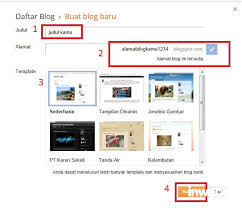 cara membuat blog tulisan cara membuat blog di blogger dan wordpress inwepo