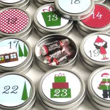 reusable 25 day countdown to christmas advent calendar presents