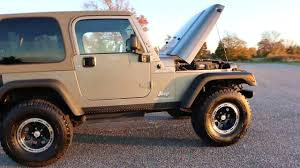 2006 jeep wrangler tj sport for sale 33s ion alloys low miles
