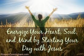 energize your soul and mind by starting your day with