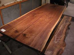 Making A Wood Desktop by Dining Tables How To Build A Live Edge Slab Table Live Edge Desk