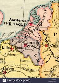 belgium and netherlands map original map of belgium and netherlands from 1875 geography