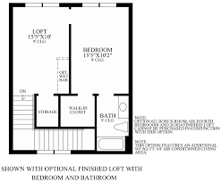 Bar Floor Plans by Lakeshore Townhomes The Enzo Home Design