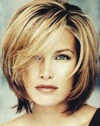 medium short hairstyle for women over 40 medium length hairstyles