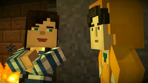 captainsparklez minecraft minecraft story mode youtuber reader insert a portal to mystery