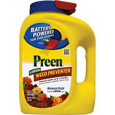 preen garden weed preventer with power spreader 24 64414 4