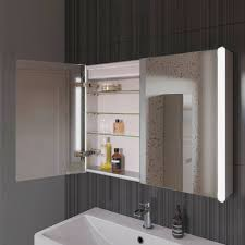 Bathroom Mirror With Clock Bathroom Cabinet Creative Bathroom Mirror With Clock Decor