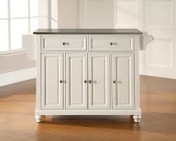 white kitchen island with stainless steel top u2013 quicua com
