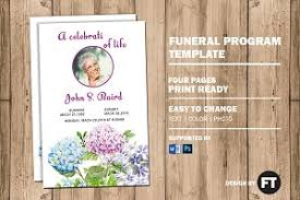 template funeral program elegance funeral program template brochure templates creative
