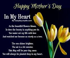 happy mothers day poems with images happy mothers cards and poem