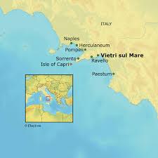 Pompeii Map Amalfi Coast U2013 Flying Longhorns