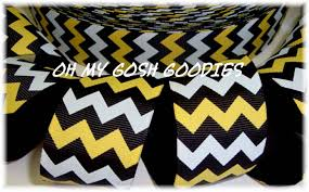 black and yellow ribbon chevron ribbon royal yellow gold stripe ribbon royal stripe