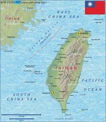 Luzon Map Map Of Taiwan Map In The Atlas Of The World World Atlas