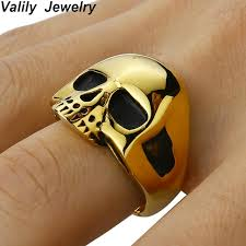 buy skull rings images Buy valily jewelry men 39 s skull ring vintage motor jpg