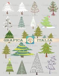 christmas tree clipart whimsical christmas clip art trees