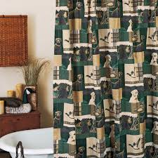 Brown And Teal Shower Curtain by Dogs And Ducks Shower Curtain 07167010000brt Kimlor Mills Inc