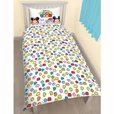 buy disney tsum tsum duvet cover u0026 pillow case set at pinksumo com