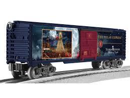 kinkade the polar express boxcar
