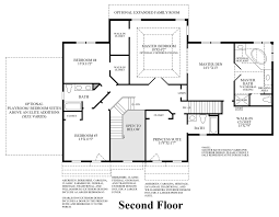 Traditional Floor Plan Alexandria Estates The Hampton Home Design
