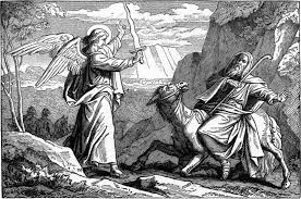 file foster bible pictures 0080 1 an angel met balaam with a sword