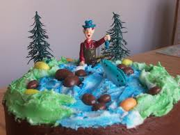 fly fishing birthday cake cakecentral com
