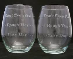 whats a wedding present day bad day stemless wine glasses christmas gifts