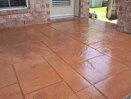 Concrete Patio Cost Per Square Foot by Stamped Concrete Patio Cost Per Square Foot Home Design Ideas