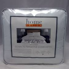 home design comforter home design mini stripe alternative comforter white