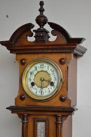 antiques atlas unusual late victorian wall clock with barometer