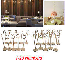 table numbers with pictures wedding table numbers ebay