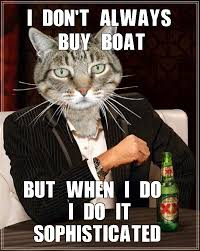 I Should Buy A Boat Meme - the most interesting cat in the world i should buy a boat cat