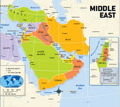 east political map this is a political map of the middle east it shows the countries