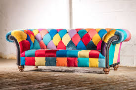 Patchwork Chesterfield - greyson only patchwork