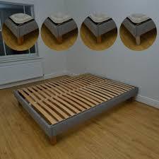 king size bed frame storage fascinating low bed frames king mid