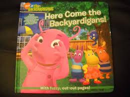 backyardigans hard cover book janice burgess hc46
