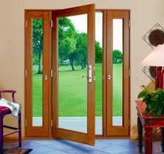 Patio Door Sidelights Three Panel Glass Doors With Side Panels That Open Vented
