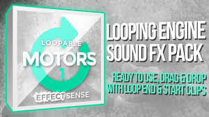 loopable motors 1 small engines looping engine sound effects