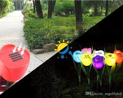 Christmas Outdoor Decorations Stores by Solar Led Outdoor Light Landscape Path Premium Quality Rose Lamp