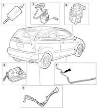 ford focus 2002 fuel where is my fuel filter located 2005 2007 ford focus ifixit