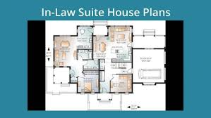 apartments house floor plans with mother in law suite guest