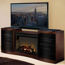 acton walnut multi fire xd electric fireplace entertainment center